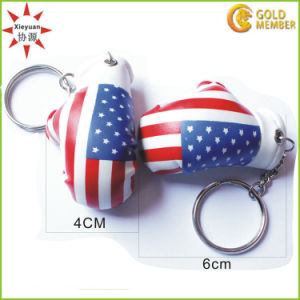 High Quality Leather Boxing Gloves Key Chain pictures & photos