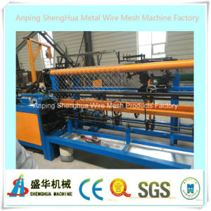 Full Automatic PVC Coated Chain Link Fence Machine pictures & photos