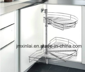 Revolving Basket with Damping Rail/Kitchen Cabinet