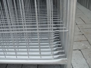 2100mm X 2400mm Width Od 32 Pipes Thick 1.4mm and 2.00mm Ship to Australia Temporary Fencing Panels pictures & photos