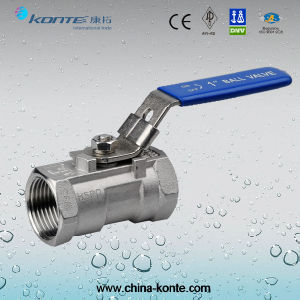 1PC Threaded Ball Valve with Lock Device pictures & photos