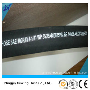 High Pressure Hydraulic Rubber Hose (SAE 100R13) pictures & photos