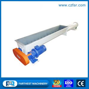 Ce Certified Small Screw Conveyor for Grain Powder Material pictures & photos