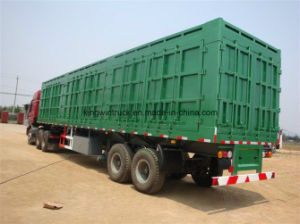 Sinotruk HOWO Brand 4X2 with Body Cargo Truck pictures & photos