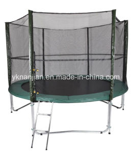 8ft Indoor Big Trampoline with Safety Net pictures & photos