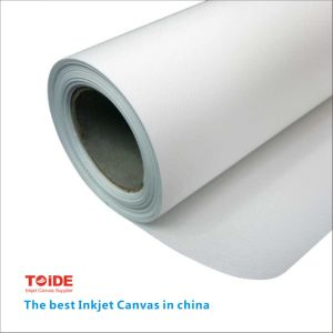 Eco-Solvent High Glossy Polyester Canvas pictures & photos