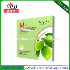 Eco-Fruit Fiber Breathing Skin Care Whitening Silk Facial Mask pictures & photos