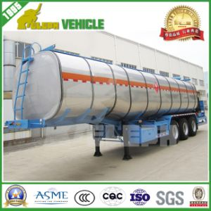 Euro Style Three Axles Aluminum Tanker Trailer pictures & photos