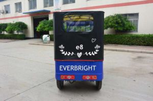 New Electric Car Rickshaw for Passenger, Electric Tricycle Used pictures & photos