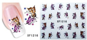 Nail Art Butterfly Water Transfer Decal Sticker Beauty Products (NPP15)
