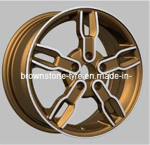 L003 Aluminum Car Wheel Rim for Russia Market pictures & photos