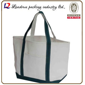 Gift Paper Nonwoven Shopping Bag Leather Cotton Canvas Handle Shopping Bag (X035)