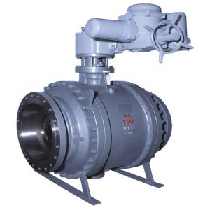 Electric Ash Unloading Ball Valve pictures & photos