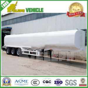 3 Axles 45000L Special Vehicle Fuel Tank Oil Tanker Trailer pictures & photos