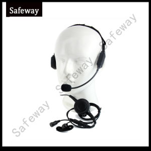 Two Way Radio Bone Conduction Headset for Motorola Xirp6600 pictures & photos