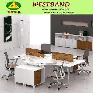Modern Metal Frame Panel Office Workstation