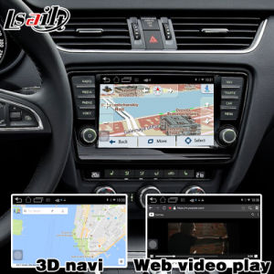 Android GPS Navigation System Box for Skoda Octavia Video Interface pictures & photos