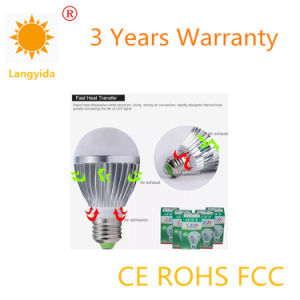 Made in China 5W Bulb LED High Lumen 85-265V 6500K pictures & photos