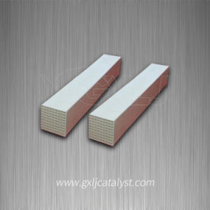 150mm Industrial Exhaust Gas Purification Cordierite Honeycomb Ceramic Substrate Carrier Catalyst pictures & photos