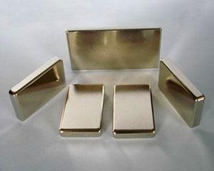 Customized Rectangular Permanent Neodymium Rare Earth Magnet pictures & photos