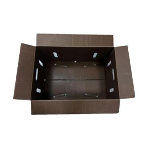 Wax Dipped Corrugated Cardboard Box for Vegetable Packaging pictures & photos