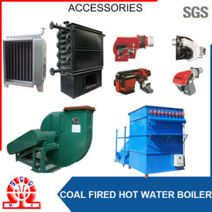 Double Drums Hot Water Boiler with Coal Feeder for Pakistan pictures & photos