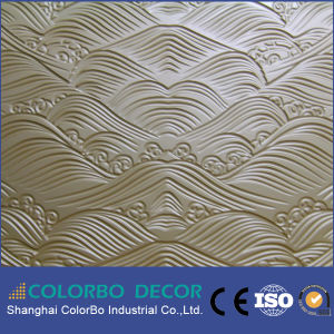 Natural Wood 3D MDF Building Wall Panels pictures & photos