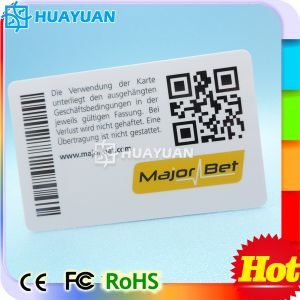 High Quality Plastic PVC QR Barcode Business Card for Promotion pictures & photos