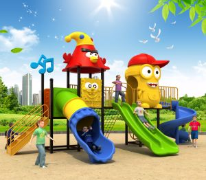 2017 Top Quality Standard′s Kids Outdoor Playground pictures & photos