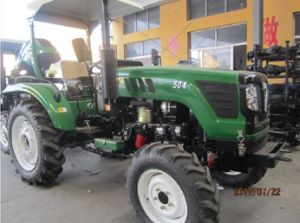 45HP 50HP 55HP 60HP 4WD Farm Agriculture Foton Tractor with Loader/Backhoe/Slasher pictures & photos
