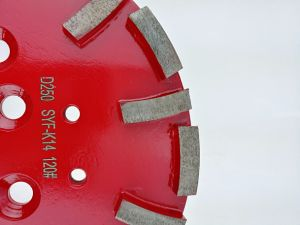 10 Inch 250mm Diamond Grinding Disc Plate for Concrete Grinder pictures & photos