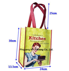 Reusable PP Non Woven Laminated Bag Shopping Tote Bag pictures & photos