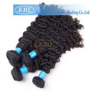 Free Sample Hair Bundles, Natural Black 8A Grade Brazilian Hair Kinky Curly Hair pictures & photos