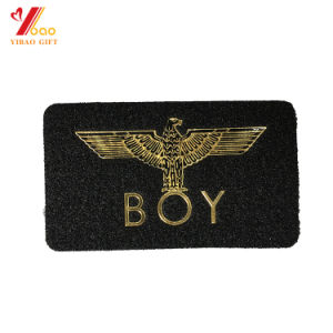Custom Chenille Patches Embroidery Border Number and Letters Design Cloth Sew on Garment Patch (YB-e-044) pictures & photos
