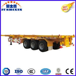 2/3 Axle 40feet Skeleton/Skeletal Container/Utility Cargo Truck Tractor Semi Trailer pictures & photos