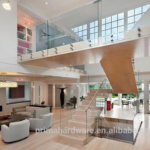 Factory Price Frameless Glass Railing with Path Fitting Design pictures & photos
