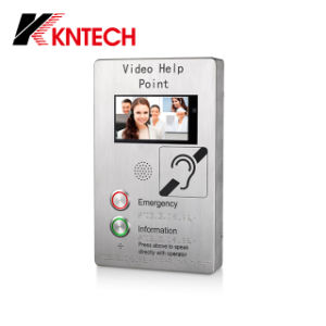 Full Duplex 7 Inch Video Doorphone VoIP Intercom Call Station pictures & photos