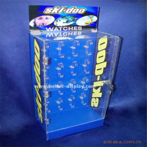 Acrylic Single Watch Display Stand with Logo Btr-F1069 pictures & photos