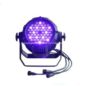 54*3W RGBW LED Event Party Disco Outdoot PAR Lighting pictures & photos
