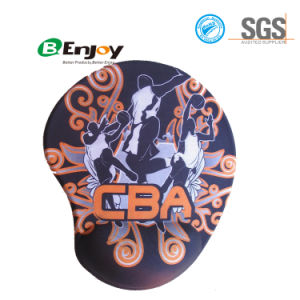 Ergonomic Gel Wrist Rest Mouse Pad with Custom Logo Printing pictures & photos