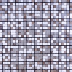 2017 Small Hexagon Metal Mosaic pictures & photos