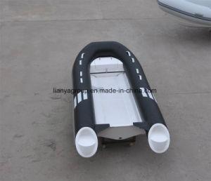Liya 3m-4m 40HP Fiberglass Bottom Boat for Sale Rib Boat Price pictures & photos