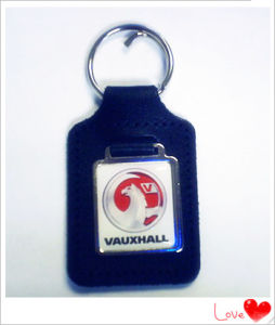 Customized Leather Keychain for Sale (YB-LK-05) pictures & photos