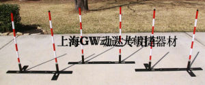 Agility Dog Training 6weave Pole Adjustable (GW-DT10) pictures & photos