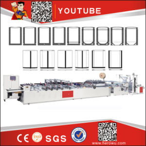 Hero Brand Full Automatic Non-Woven Zipper Bag Making Machine (WFB-D) pictures & photos