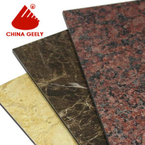 Marble Finished Aluminum Composite Panel (Geely-201) pictures & photos