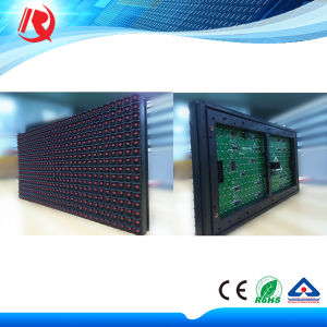 Outdoor Single Red P10 LED Module Display pictures & photos
