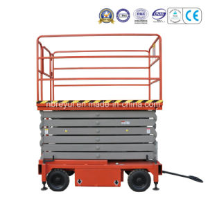 500-1000kg Auto-Travel Scissors Aerial Working Platform pictures & photos