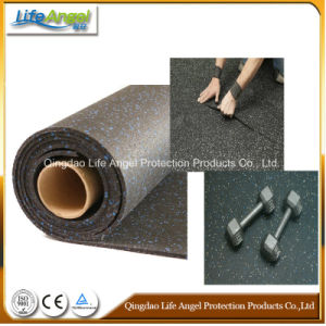 Driveway Home Indoor EPDM Spray Rubber Flooring in Roll
