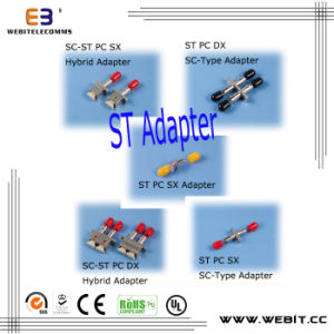 St Fiber Optic Adapter, St Adapater, Fiber Optic St Adapter pictures & photos